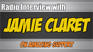 radio-interview-jamie-claret-amazing-support