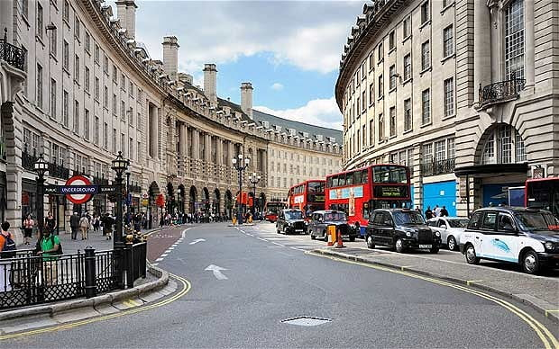 Business IT Support in Central London - Regent Street