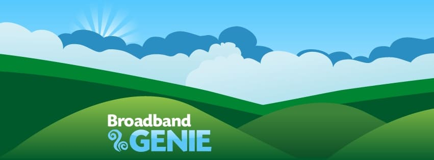 Amazing Support - Internet Connectivity - Broadband Genie Logo