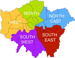 Map - North London IT support